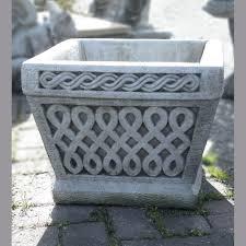 large square stone planter arab pot onefold uk