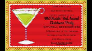 invitation wording christmas party invitation ideas