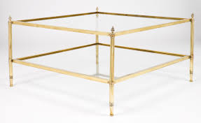 coffee tables mesmerizing golden square contemporary glass and