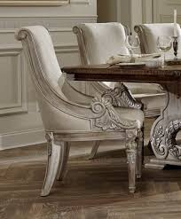 orleans ii white wash extendable trestle dining room set from