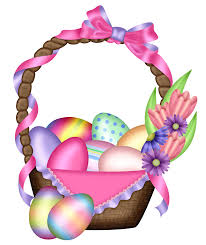 easter colorful basket transparent png clipart gallery
