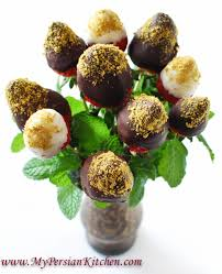 chocolate covered strawberry bouquets chocolate pistachio covered strawberries my kitchen