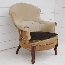 French Linen Armchair Antique French Armchair Upholstery Inclusive Antiques Atlas