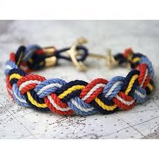 bracelet braid images Nautical rope braid bracelet tristram calm waters home jpg