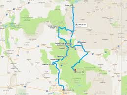 Road Trip Map Upcoming Road Trip Around Northern Arizona Mike U0027s Road Trip