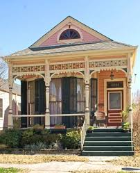 New Orleans House Plans 1830s 1950s Shotgun Style House New Orleans Often Decorated
