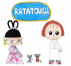 ratatouille by movie compare on deviantart