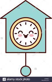 pendule de bureau horloge pendule de bureau décoration kawaii vecteurs et illustration