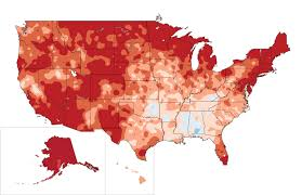 Snow Map Usa by Recent U S Temperature Trends National Climate Assessment