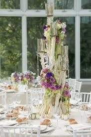Purple Flowers Centerpieces by Tall Flower Arrangements Wedding Centerpiece Designs Inside