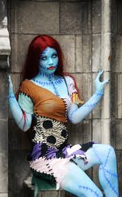 Halloween Costumes Nightmare Christmas Awesome Sally Cosplay Coplay Epic Cosplay Sally
