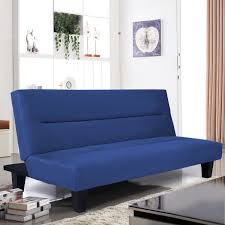 Foldable Sofa Chair by Microfiber Folding Sofa Couch Bed 2 Colors Sofas Furniture