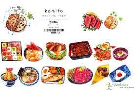 masking cuisine food masking kamito rodmas stationery