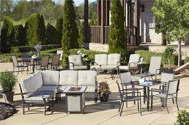 Aluminum Patio Furniture Set - amazon com cosco outdoor 5 piece serene ridge aluminum patio