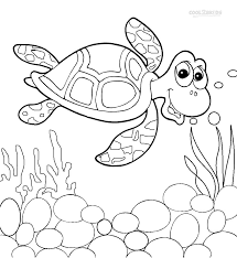 printable sea turtle coloring pages kids cool2bkids