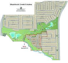 portfolio archive shaddock development company shaddockcreek estates illustrated site map layout by shaddock development