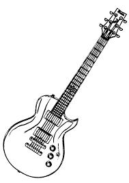 acoustic guitar coloring pages eliolera com