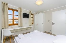 chambre split v2 bedded room with shared bathroom hostel dvor