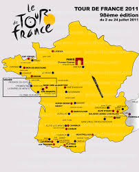Tour De France Map by Tour De France 2011 Rumours On The Race Route And The Stages