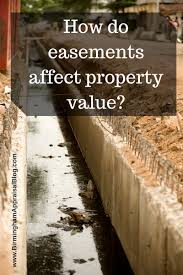 what is an easement and how does it affect my property value