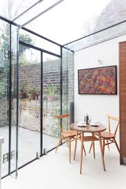 Glass Box House Islington Glass Box Extension Contemporary Dining Room