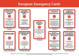international emergency card adrenals eu
