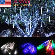 Meteor Shower Lights 8 30 50cm 144 240 Led Meteor Shower Rain Lights Waterproof Tubes