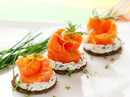 traditional canapes canapes