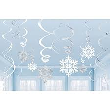 White Christmas Party Decorations by Winter Party Decorations Amazon Com
