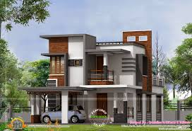 Contemporary Home Designs And Floor Plans by Low Cost Contemporary House House Elevation Indian Pinterest