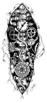 best 25 gear tattoo ideas on pinterest broken clock tattoo