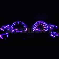 jeep wrangler dashboard lights dash cluster gauge purple led light bulb upgrade kit fits 97 06 jeep