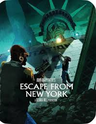 escape from new york steelbook limited edition blu ray 2