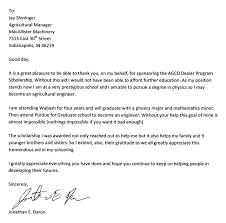 macallister ag scholarship recipient excels macallister