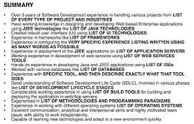 Agile Resume The Worst Developer Resume In The World Dzone Agile