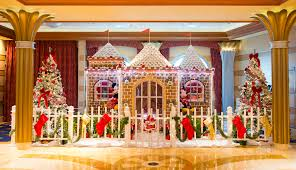 gingerbread houses come to on disney cruise line ships