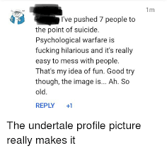 Good Try Meme - 25 best memes about undertale profile undertale profile memes