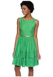donna morgan sleeveless dress with seamed bodice belk com