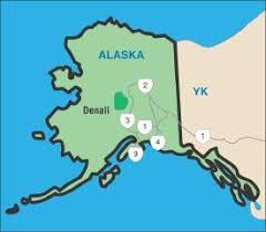 denali national park map denali national park visitor information howstuffworks