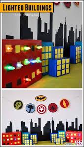 Superhero Photo Booth Craftionary