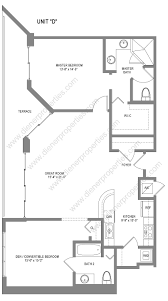 the bridgewater north bay village condo floor plans