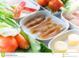crisp squid set of food suki is japanese food in restaurants t
