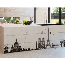 Eiffel Tower Wall Decals Romantic Paris City View Diy Wall Stickers Wallpaper Art Decor