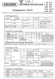 grundig 2050 am fm radio 1956 sch service manual download
