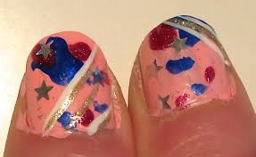 4th of july nail design nail art lab