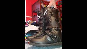 oneal motocross boots my review on the o u0027neal rider boots youtube
