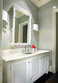 Grey Bathroom Cabinets Design Ideas - White cabinets bathroom design