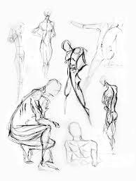 human figure drawing model
