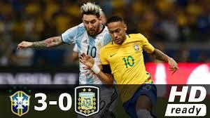 black friday argentina 2017 brazil vs argentina 3 0 all goals u0026 extended highlights world