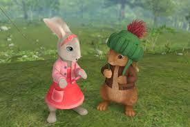 rabbit and benjamin bunny image benjamin bunny and bobtail from rabbit nick jr